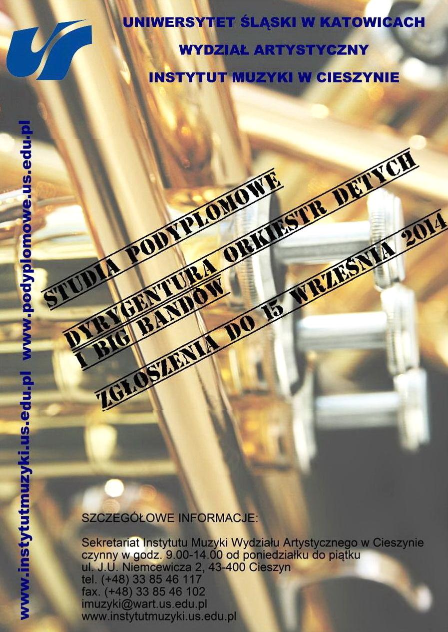 Studia - Dyrygentura Orkiestr D�tych