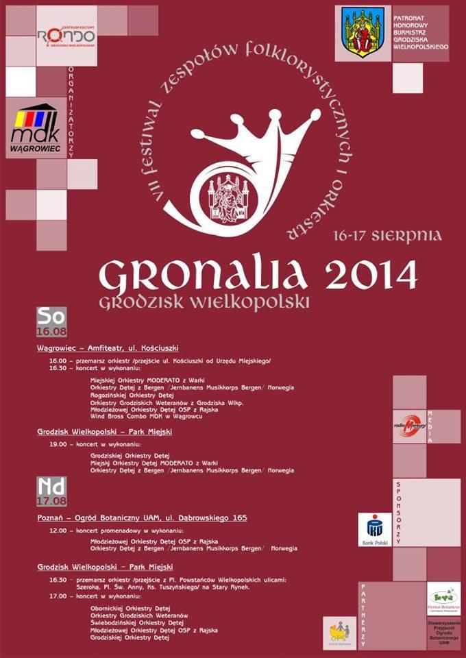 Festiwal Gronalia 2014