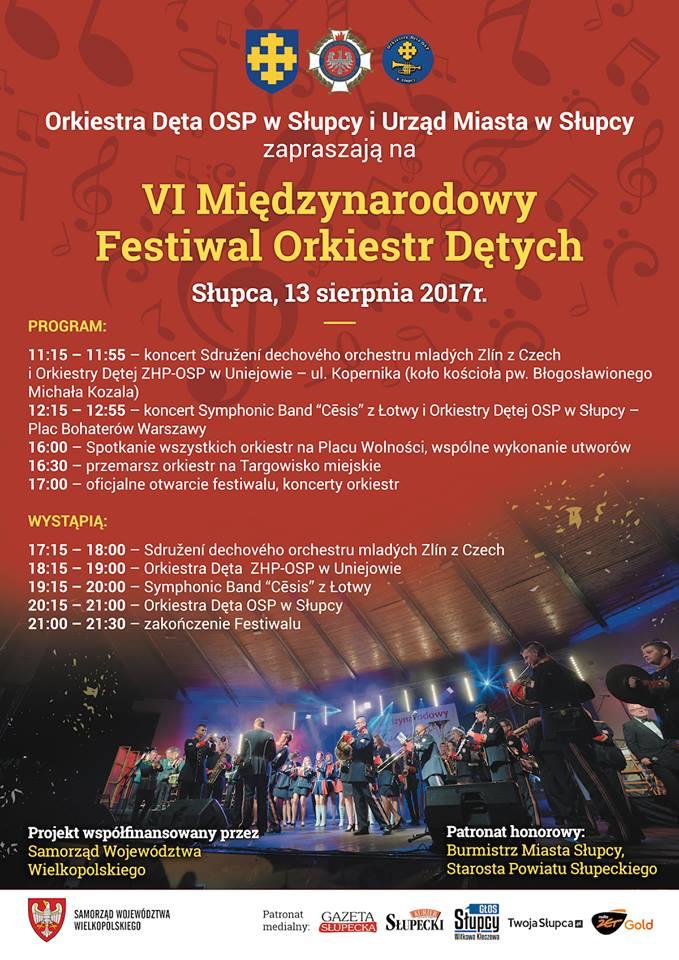 festiwal orkiestr słupca